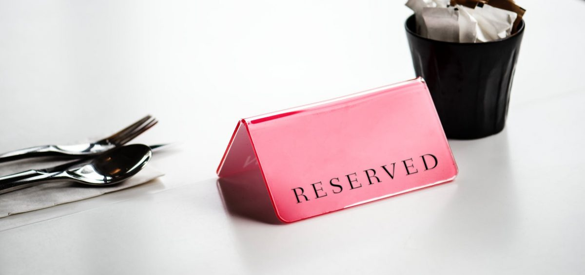 Reserved guest list